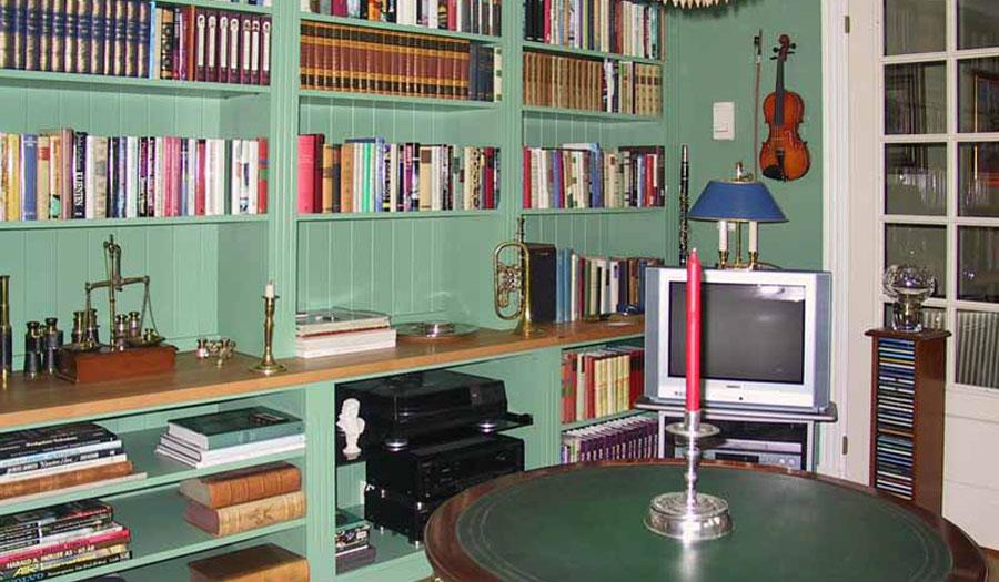 Bokvegger - Bibliotek