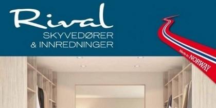 Ny katalog fra Rival - Skyvedører & Innredninger.