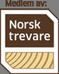 Vi er medlem av Norsk trevare