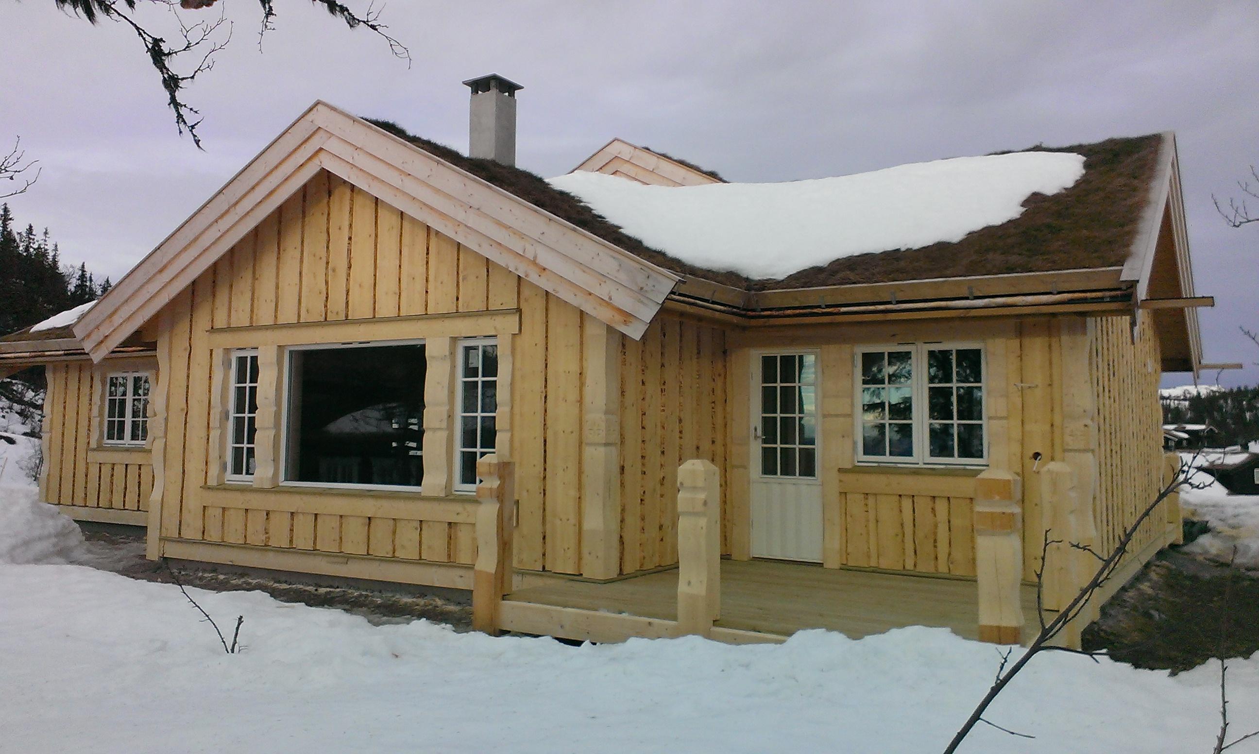 Ny hytte 2016