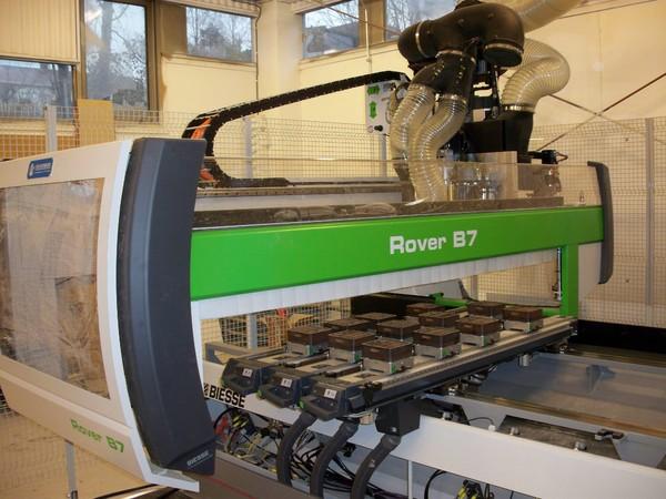 Ny Biesse Rover CNC fres