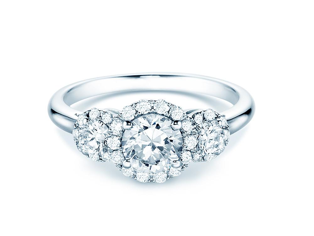 Flott diamantring Rivoir