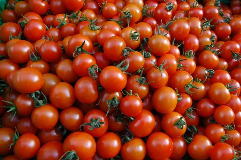 Røde sherrytomater