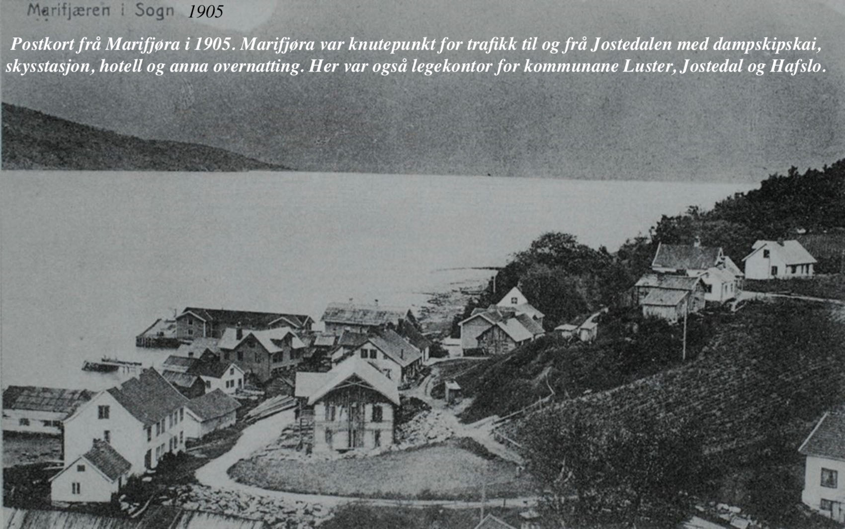 Marifjøra 1905
