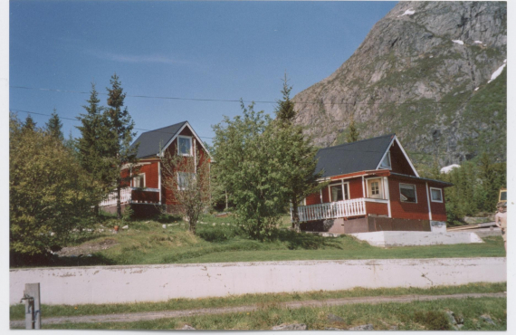 Gamle bilder ~ Old photos from Hammerstad Camping & Lofoten