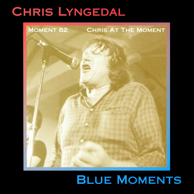 Platecover til Chris Lyngedal - Blue Moments