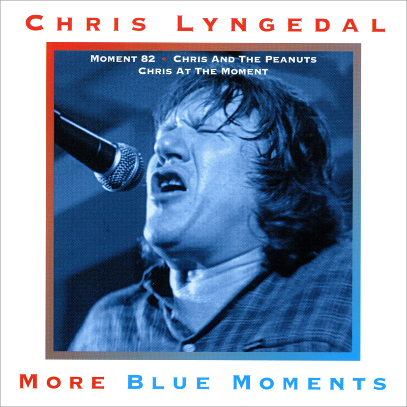 Platecover til Chris Lyngedal - More Blue Moments