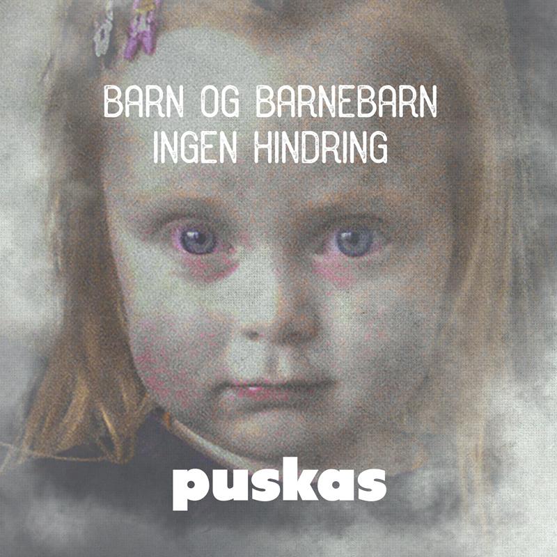 Platecover til Puskas - Barn og barnebarn ingen hindring