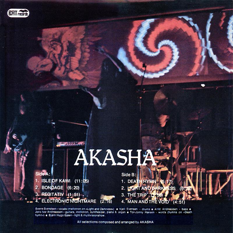 Platecover til Akasha - Akasha