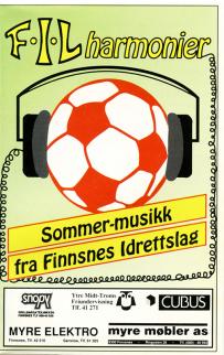 Kassettcover til FIL-harmonier