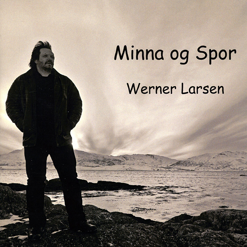 Platecover til Werner Larsen - Minna og spor