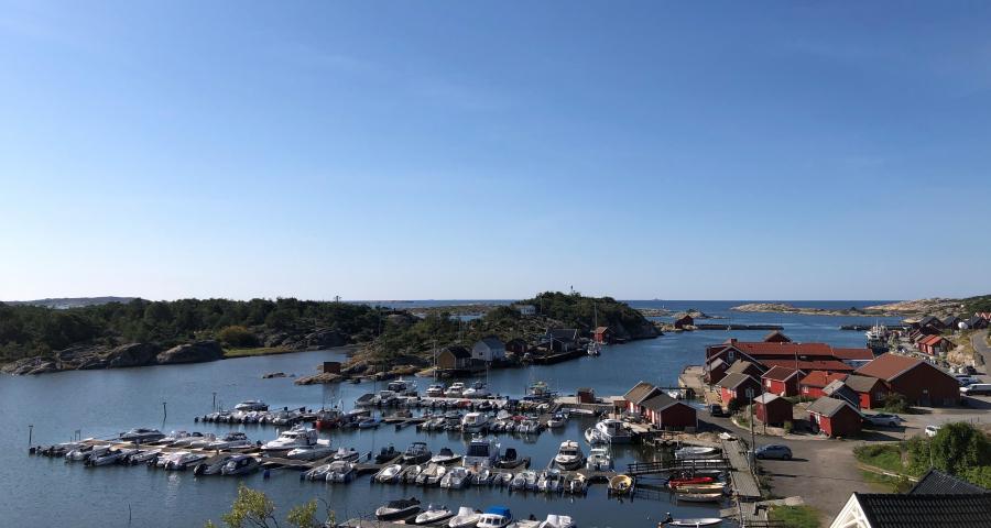Båthavna sommeren 2021