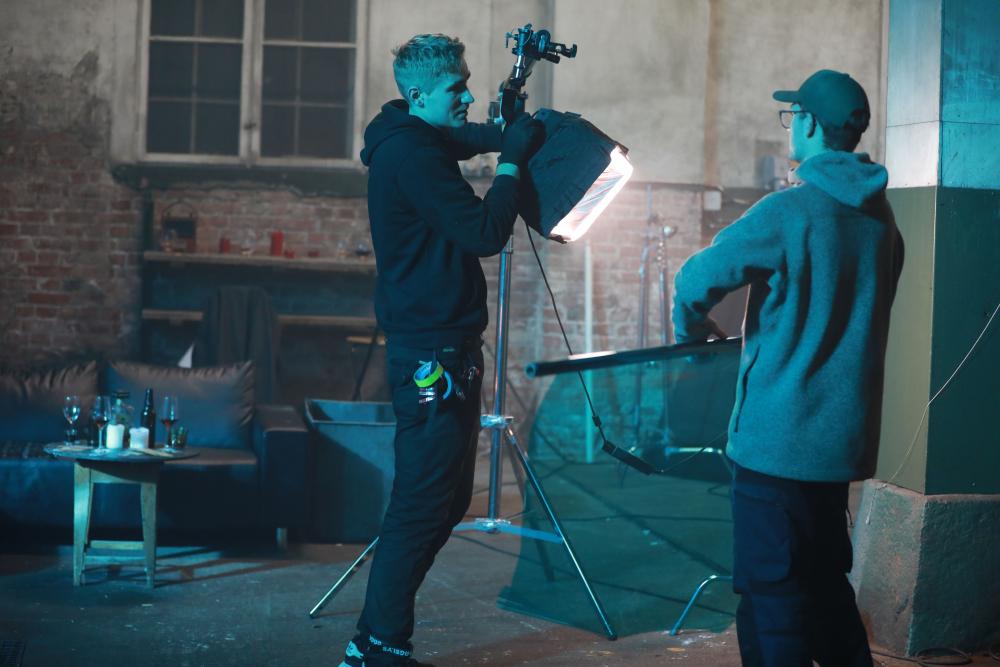 Filming på Mago B