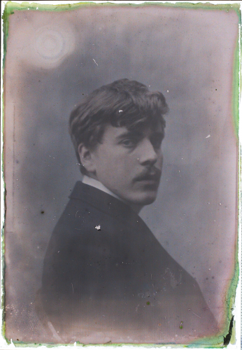 Harald Renbjoer selfportrait autochrome