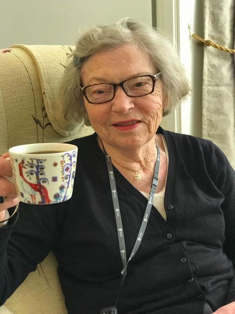 privat eldreomsorg økt livskvalitet for eldre kaffekos
