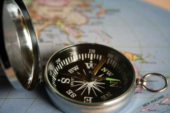 Et kompass