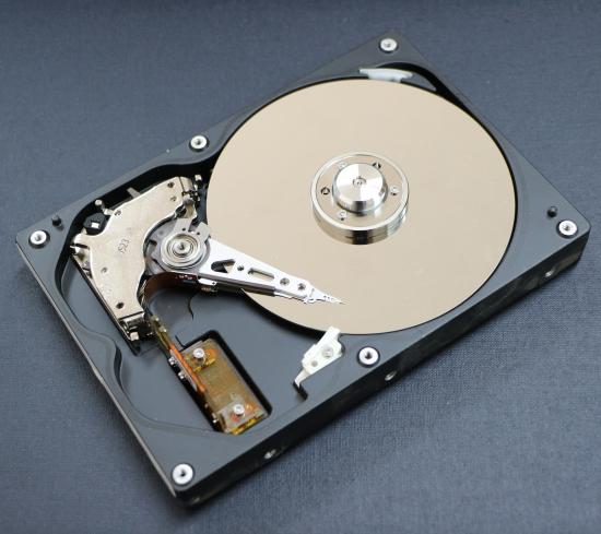 En harddisk