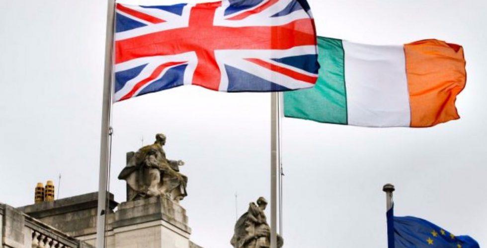 uk ireland eu flags