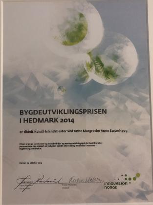 Innovasjonspris 2014