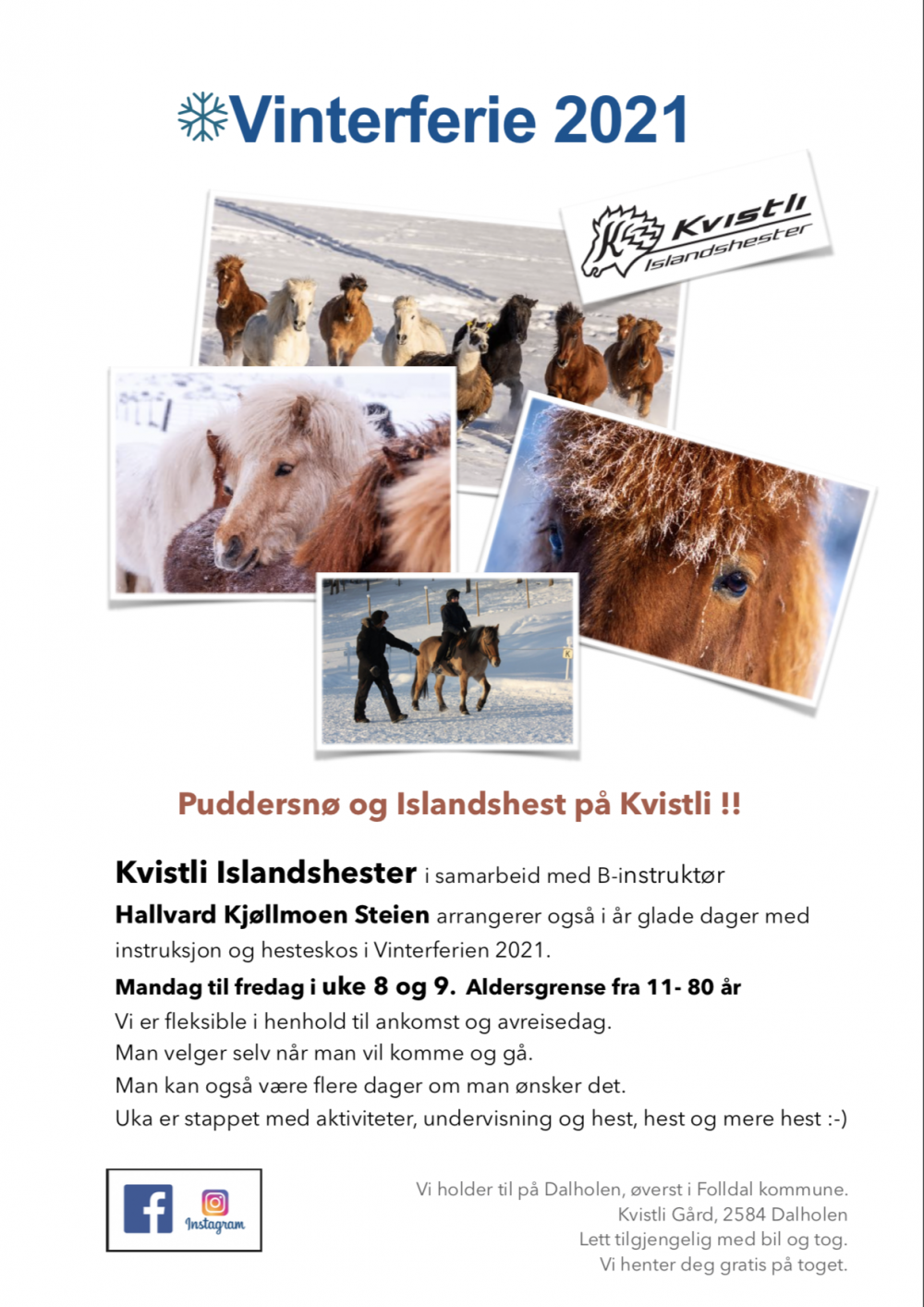 Vinterferie på Kvistli