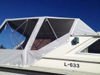 Reparasjon av båtkalesjer