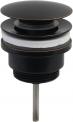 Pop-Up ventil sort matt