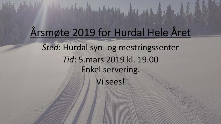 Årsmøte 2019