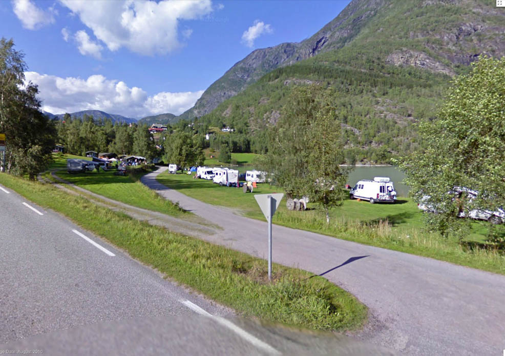 Camping ved Eidsvatnet