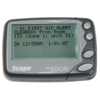 Cygnus PAGE02 GEO Zoom Text Pager with Holster