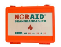 Noraid FOR BURNS brannbandasje skrin