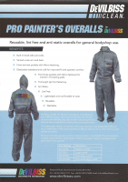 PRO PAINTER'S OVERALLS