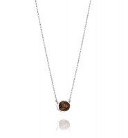 Love Beads Grande Necklace, Smokey