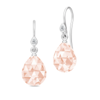 BALLERINA EARRINGS morganite