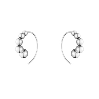 Grape earring 5511 silver