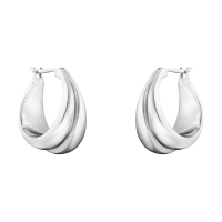Curve medium earring