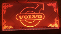 Led plate Volvo