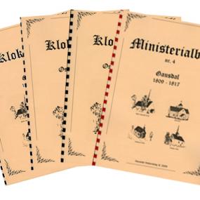Kirkebøker for Gausdal endelig i bokform