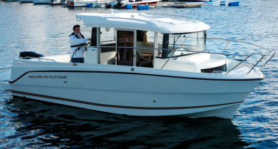 Askeladden P80 Pilothouse