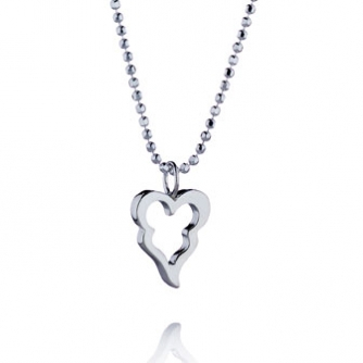 Little Crazy heart pendant