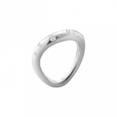 Offspring ring silver dia,0,14