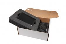 EPE skum innlegg i pappeske til avansert elektronisk hjelpemiddel utstyr